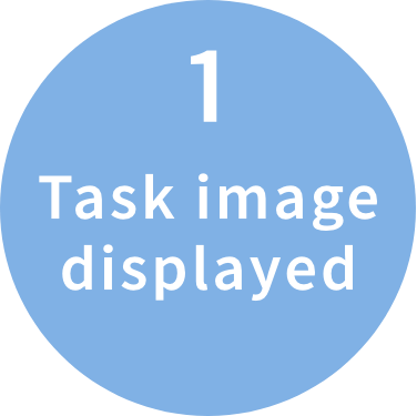 1.Task image displayed